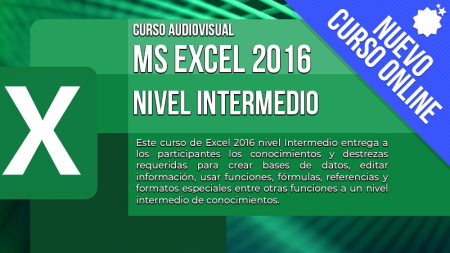 MS Excel 2016 – Nivel Intermedio