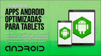 Aplicaciones Android optimizadas para Tablets